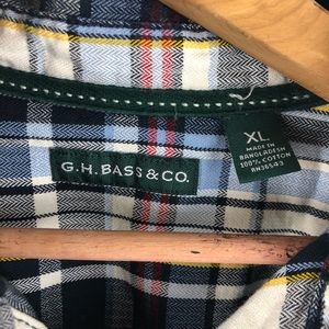 G.H. Bass & Co. Shirts - 🌿 G.H. Bass & Co Plaid Flannel Shirt